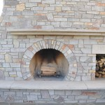 Chilton Heritage Blend Fireplace-Indiana Limestone Mantle and Hearth