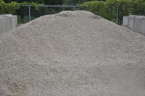 """Clear Stone 1"""" Drainage Gravel"""