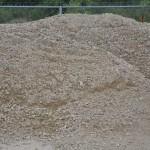 "3/4"" Crushed Limestone Gravel"