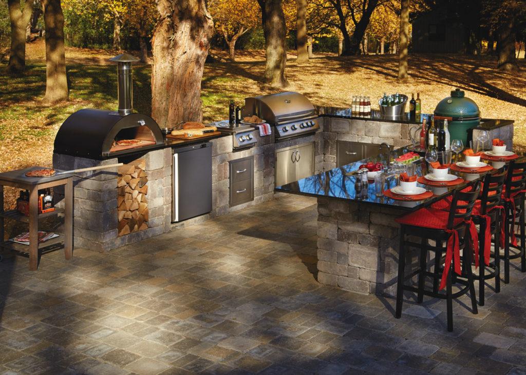 Outdoor Kitchen Islands Madison Block Stone