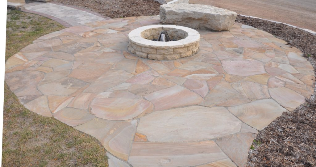 Mountain Bluff With Tennessee Flagstone