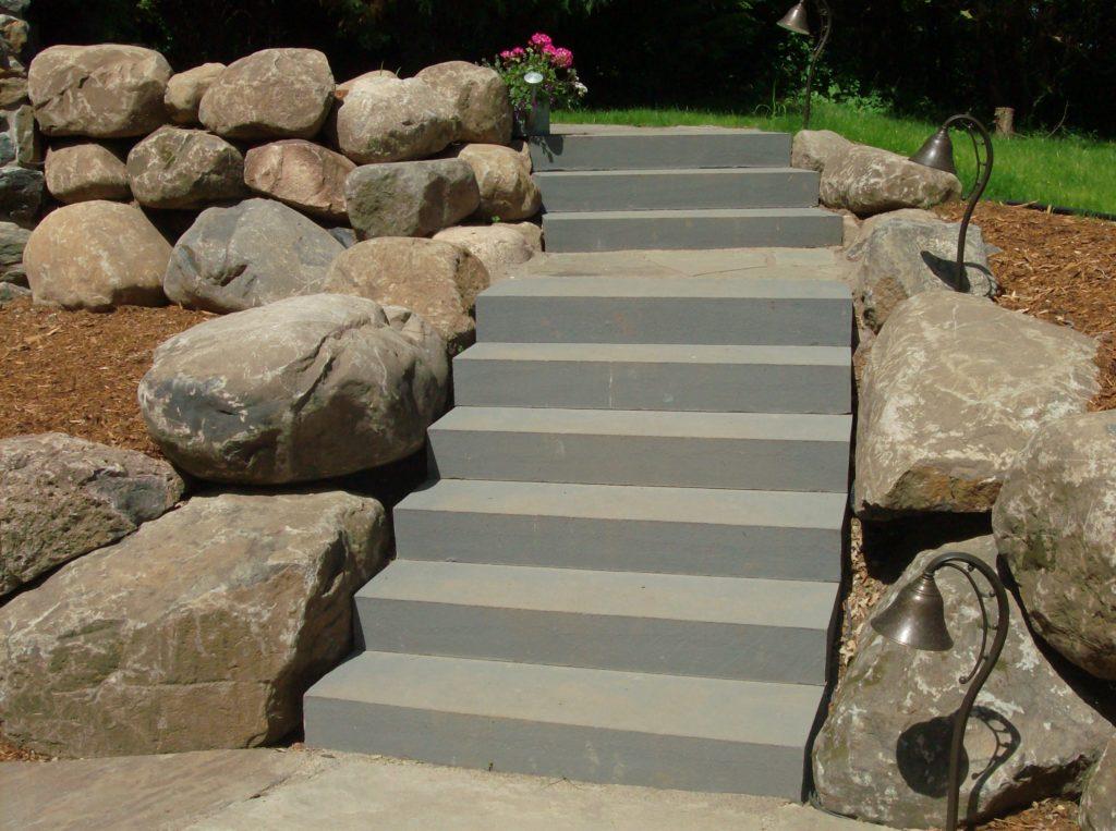 New York Blue Sawn Step | Madison Block & Stone
